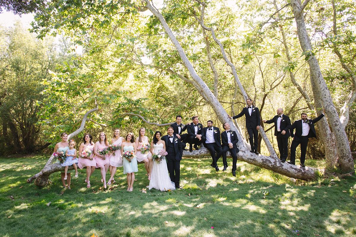 Gardener Ranch wedding with bride and groom in Carmel Valley California