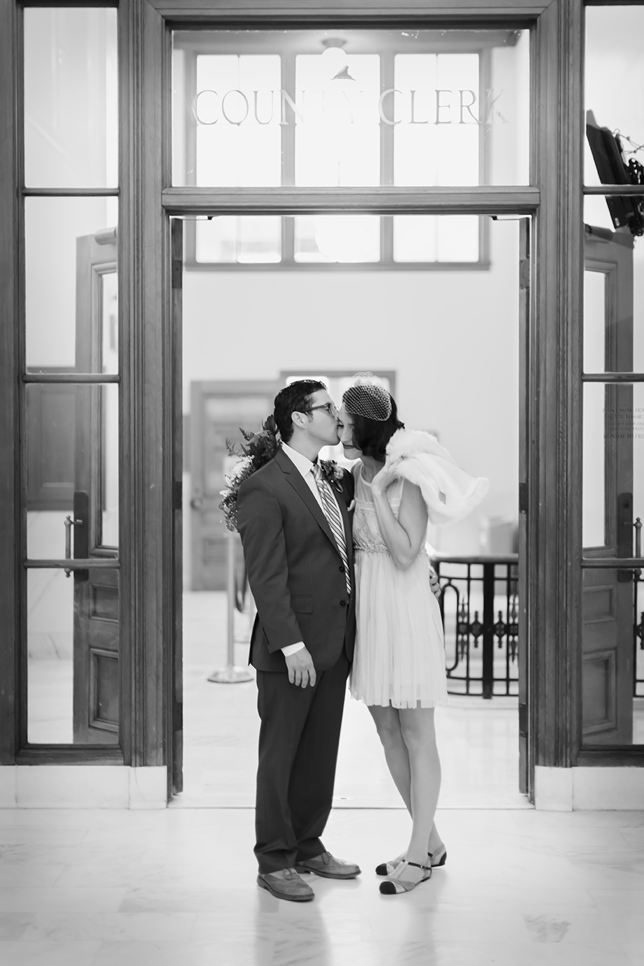 From my own City Hall wedding, thank you  Catherine Nguyen  for being our City Hall photographer! Also a big thanks to  Melisa Hall  for my hair and make-up.