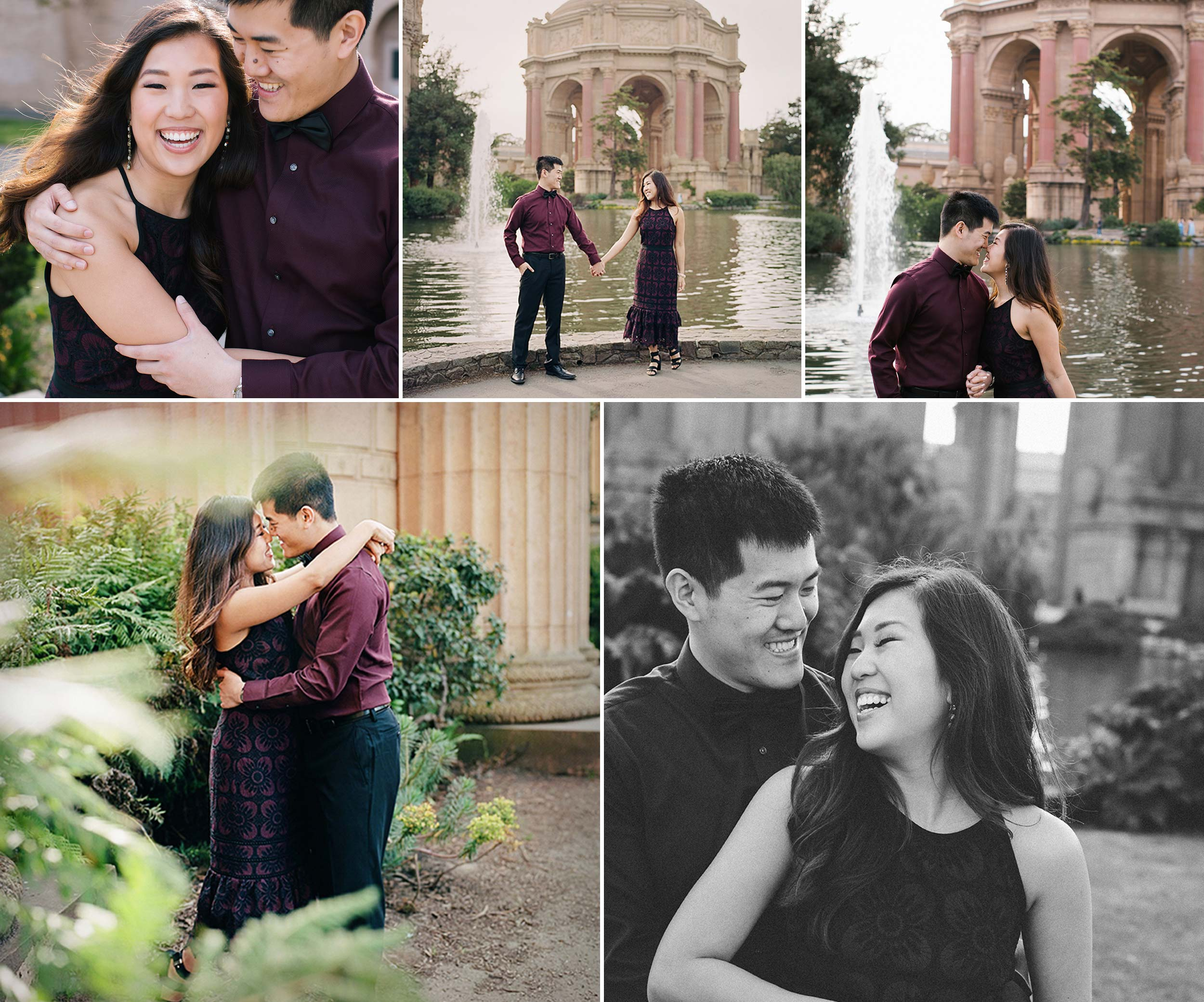 Palace of Fine Arts Engagement Session with Sonya Yruel Photography