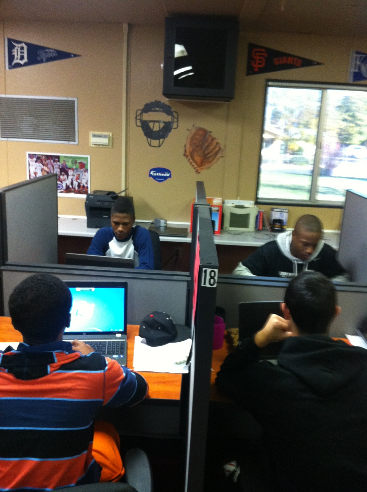 The Classroom Stations