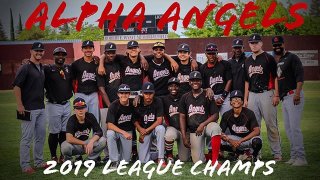 The squad took League today! Congrats fellas! @kobeebyrd @mlb