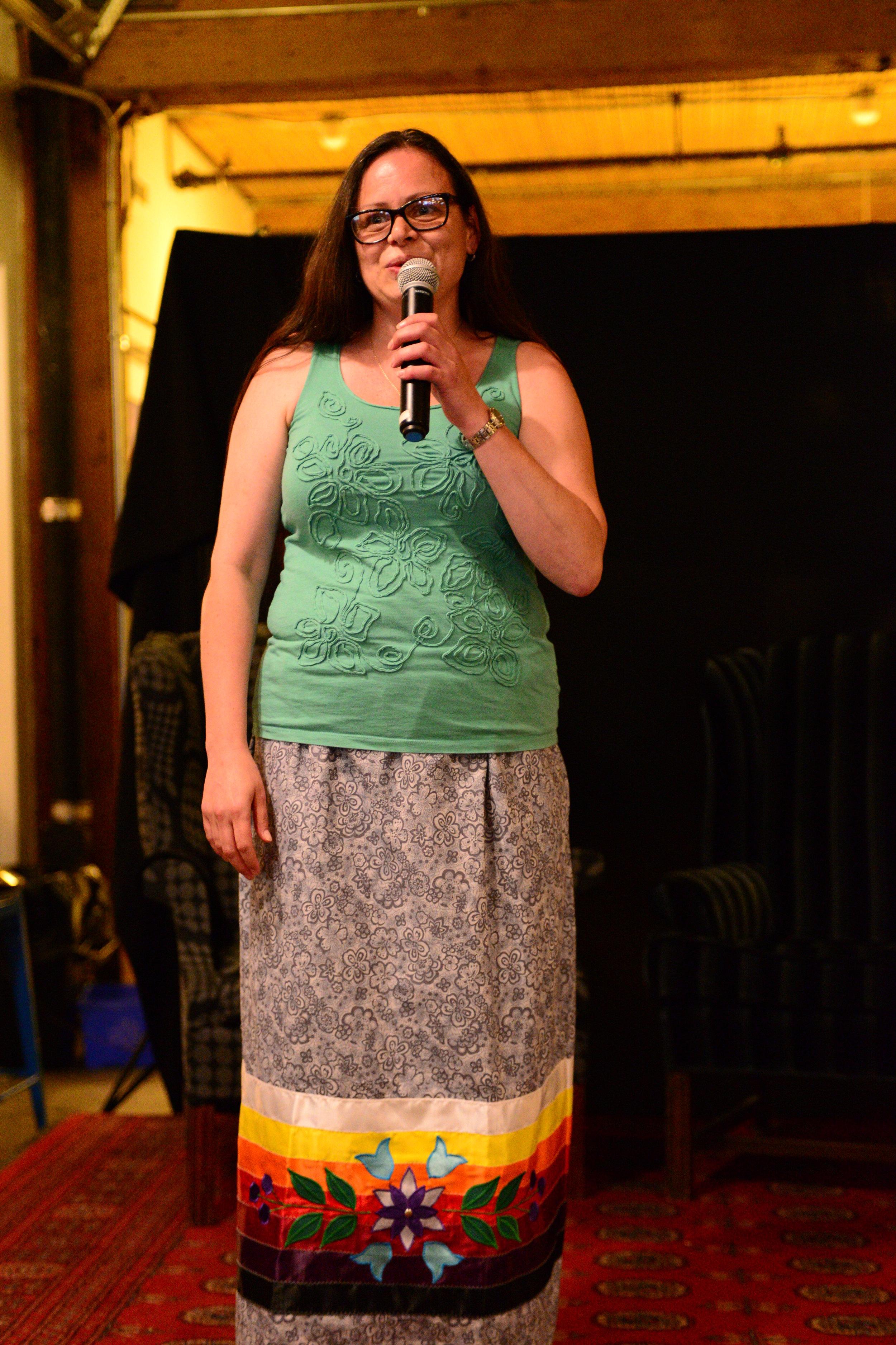 Phyllis McKenna, Keynote Speaker sharing her amazing story