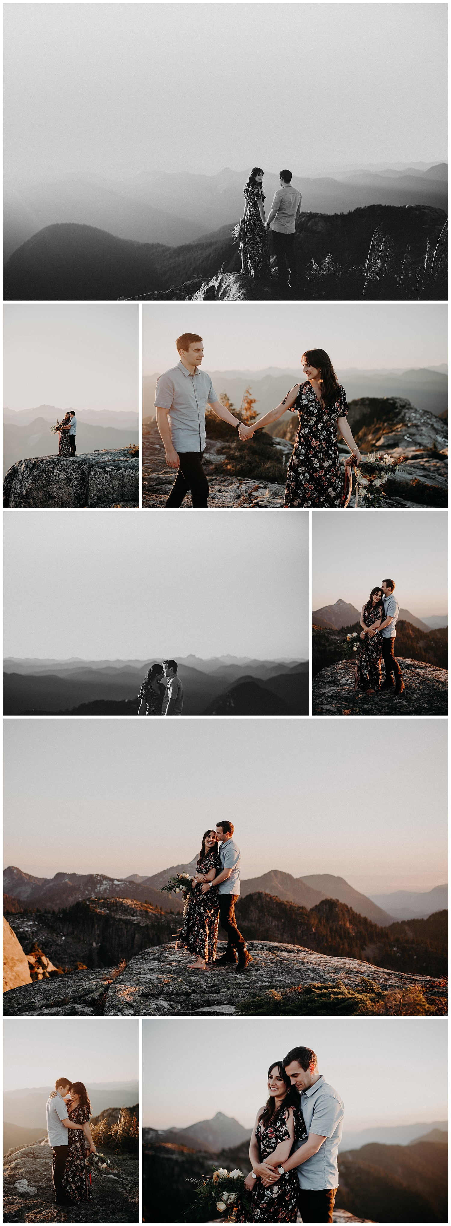 Vancouver helicopter elopement engagement session intimate Pitt lake grouse mountain stacie Carr photography