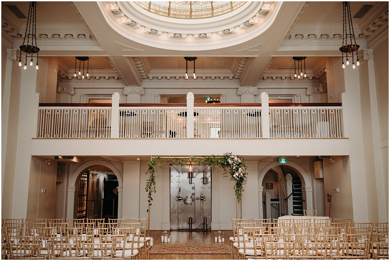 the permanent vancouver intimate wedding ceremony chiavari chairs