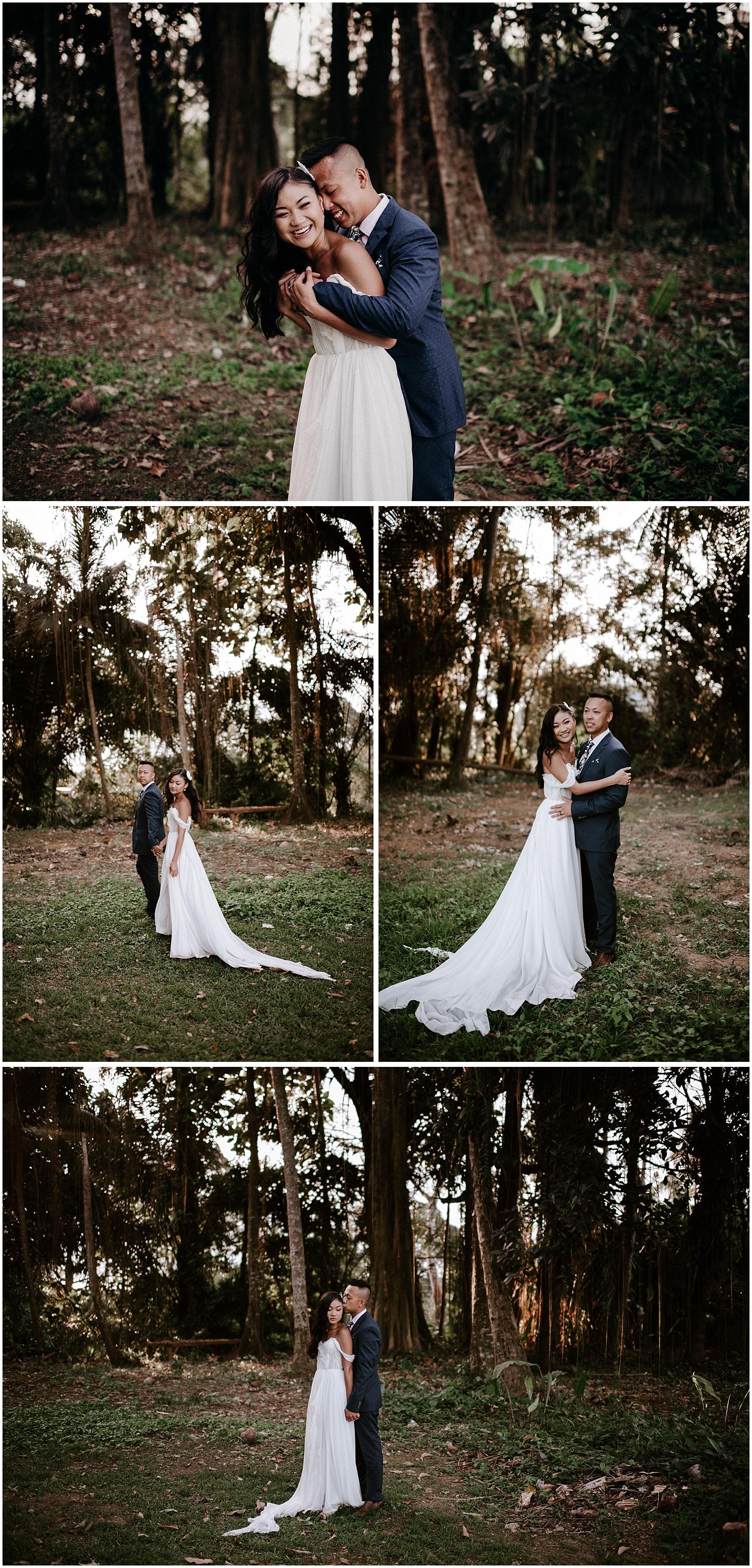 ubud bali canadian wedding couples photos