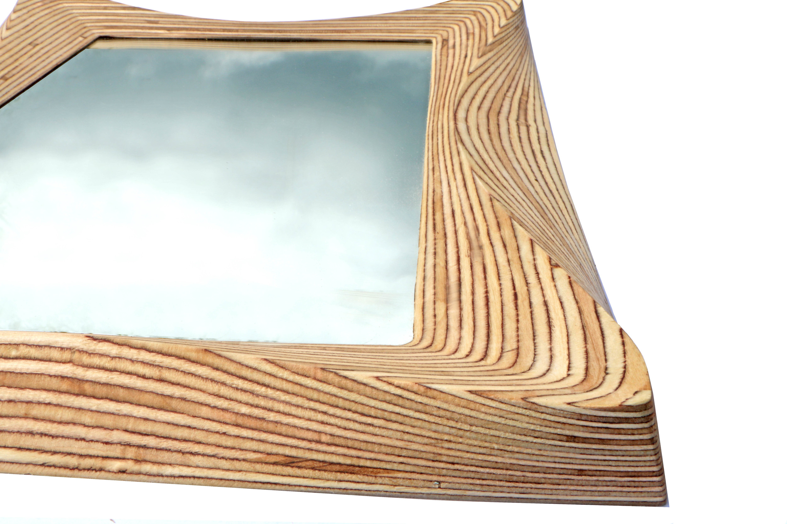 SurreyWoodsmiths Wooden Mirror Frame