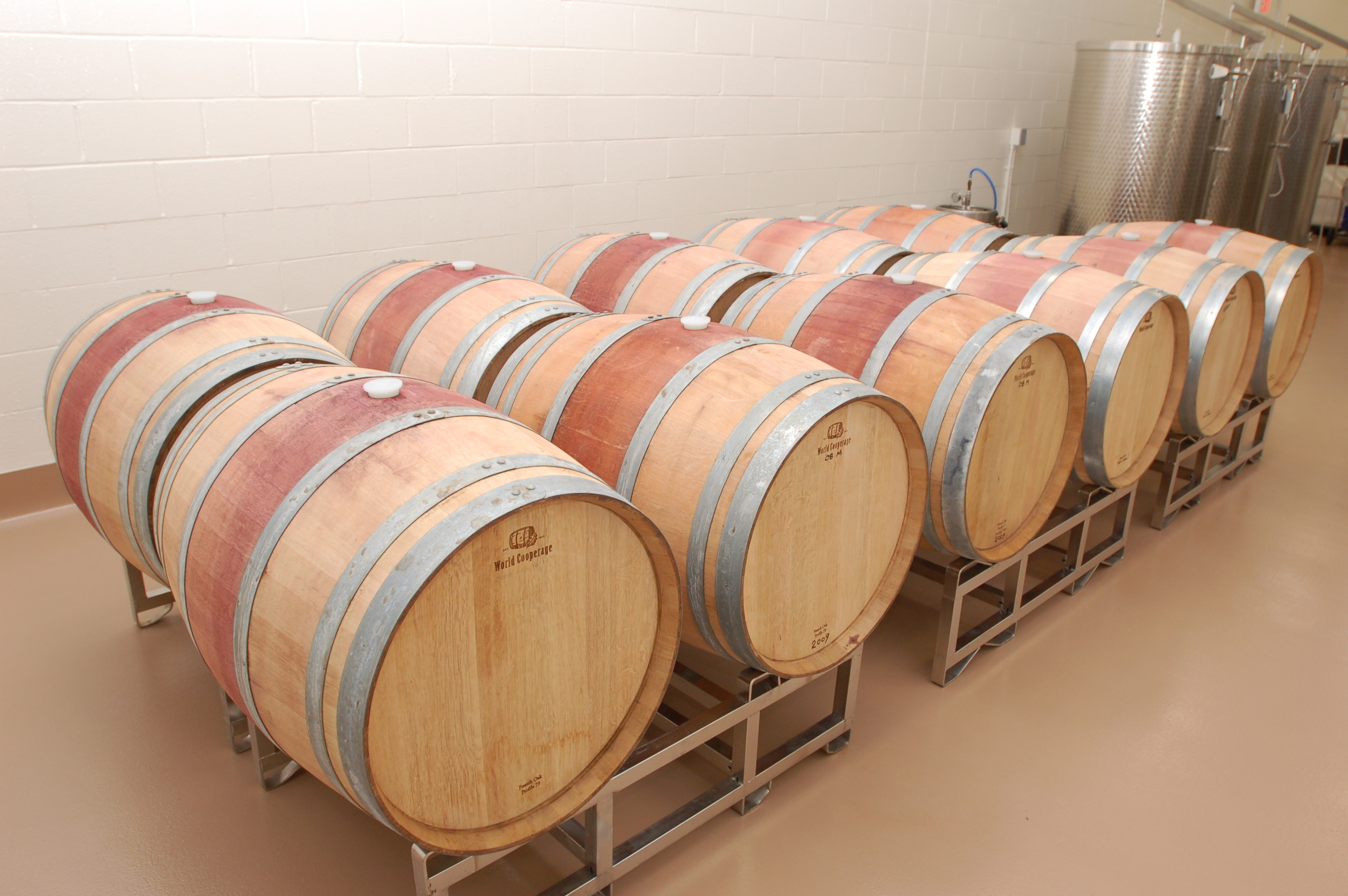 Our Barrel Aging Room