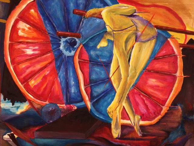 Abstract Ballerina Grapefruit Painting.jpeg