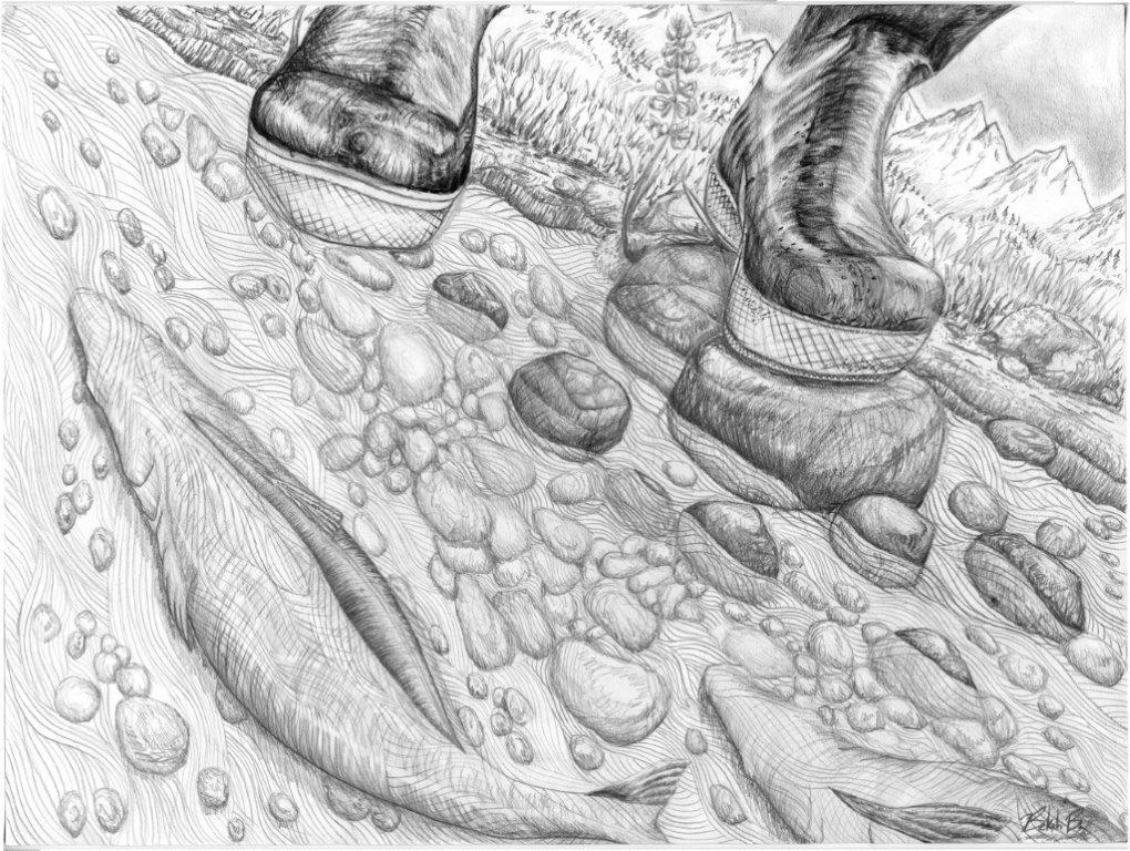 Boots and Salmon the Backyard.jpg