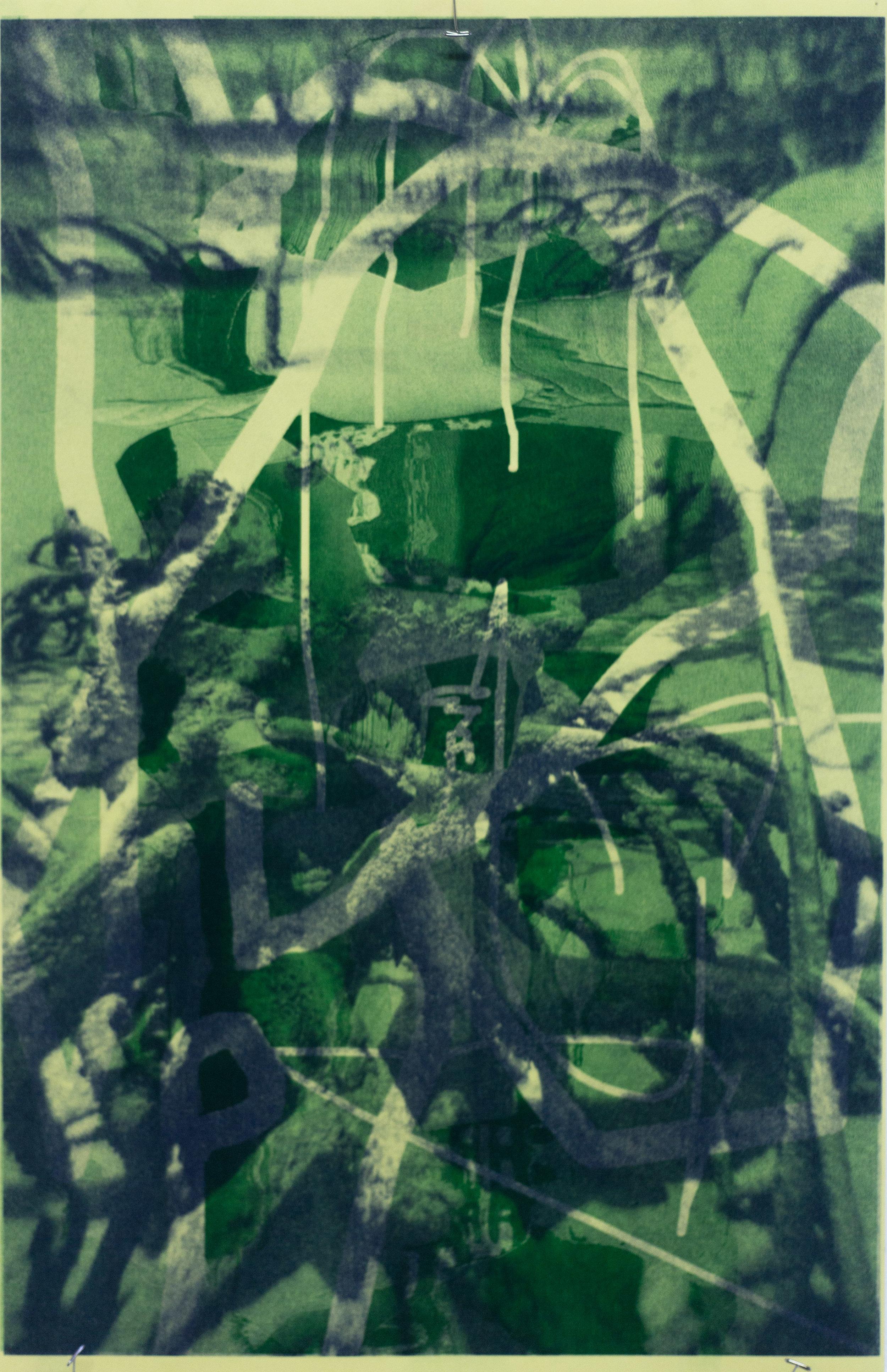 "Untitled, 11x17"", risograph print, 2017"
