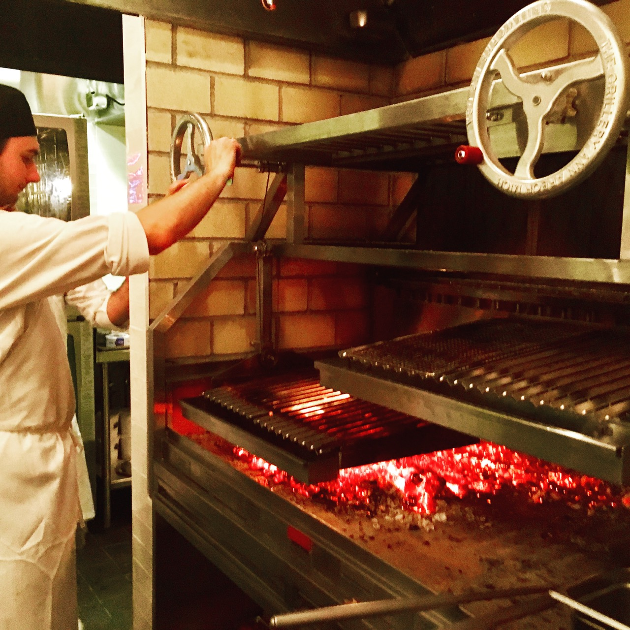 Andrew Carmellini's built-in Infierno 64 at Leuca