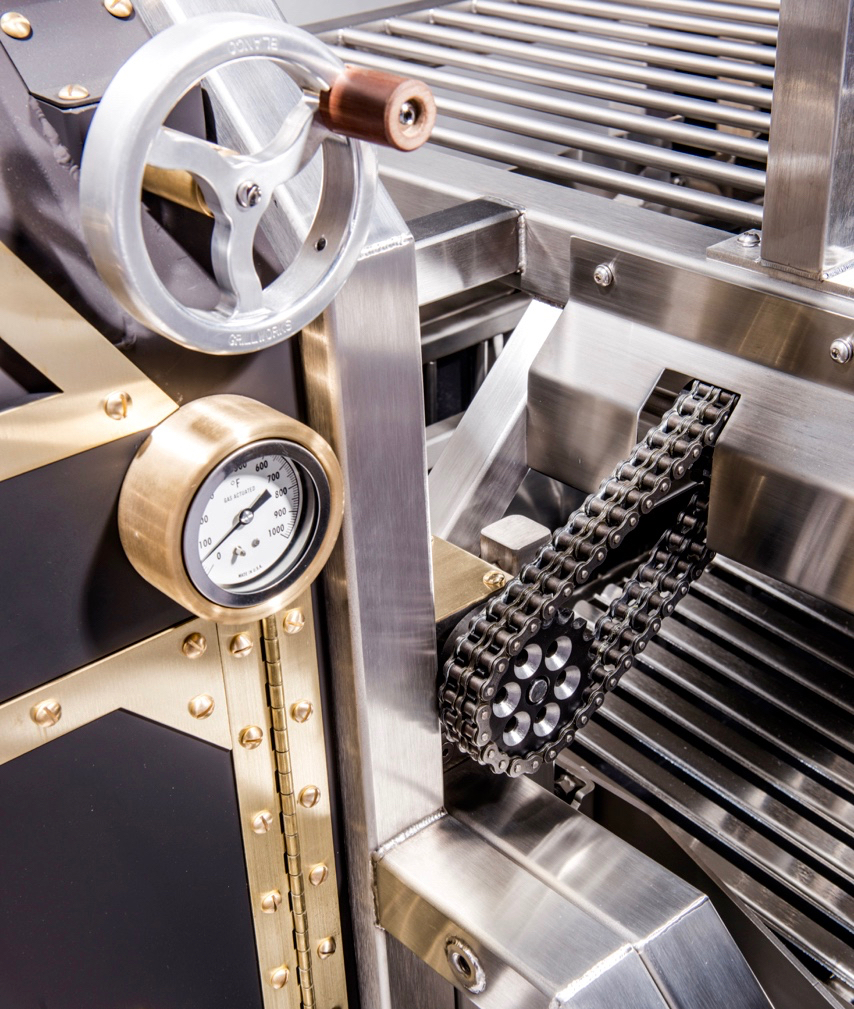 Blanco Oven Damper and Detail
