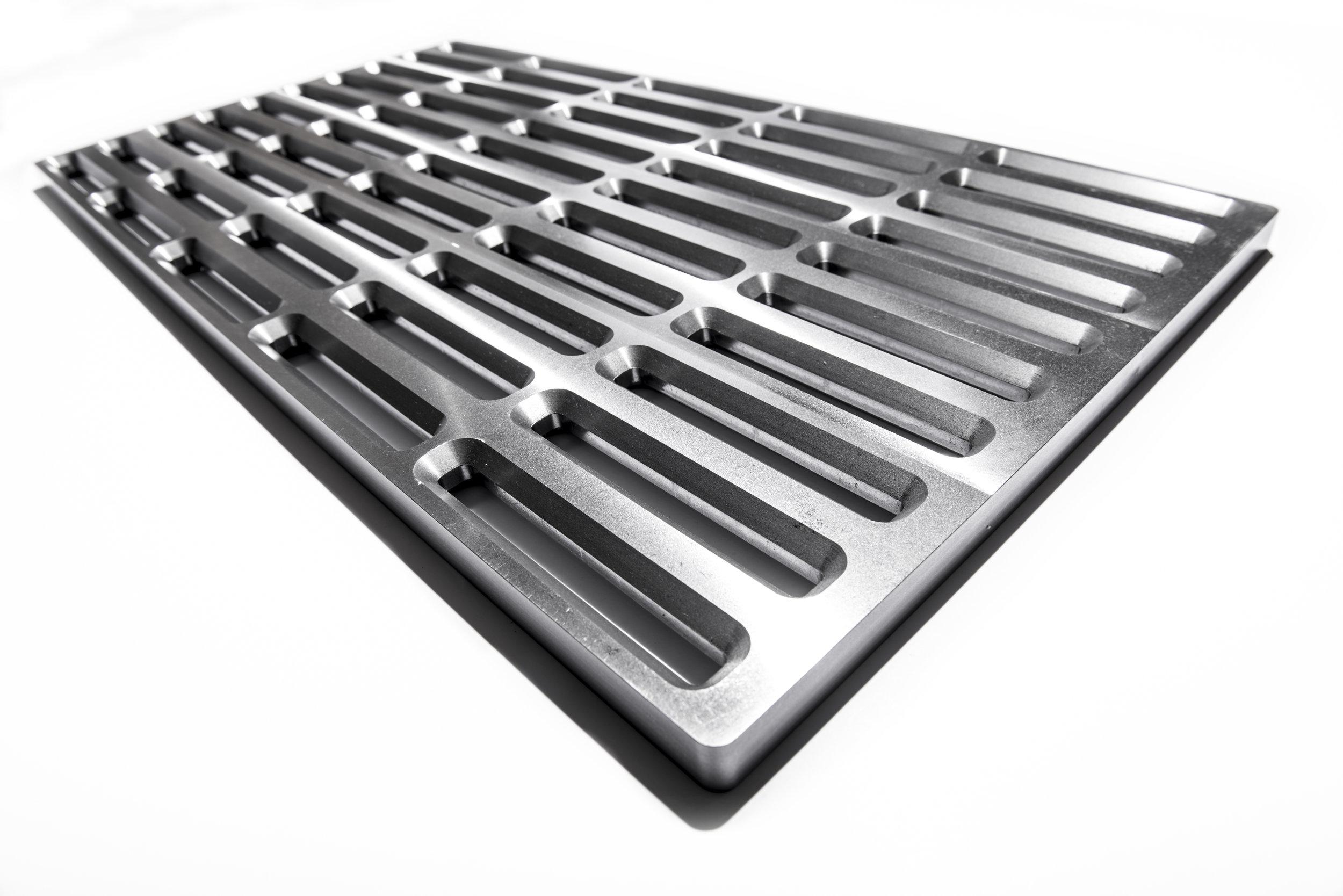 Optional Cast Iron Surfaces
