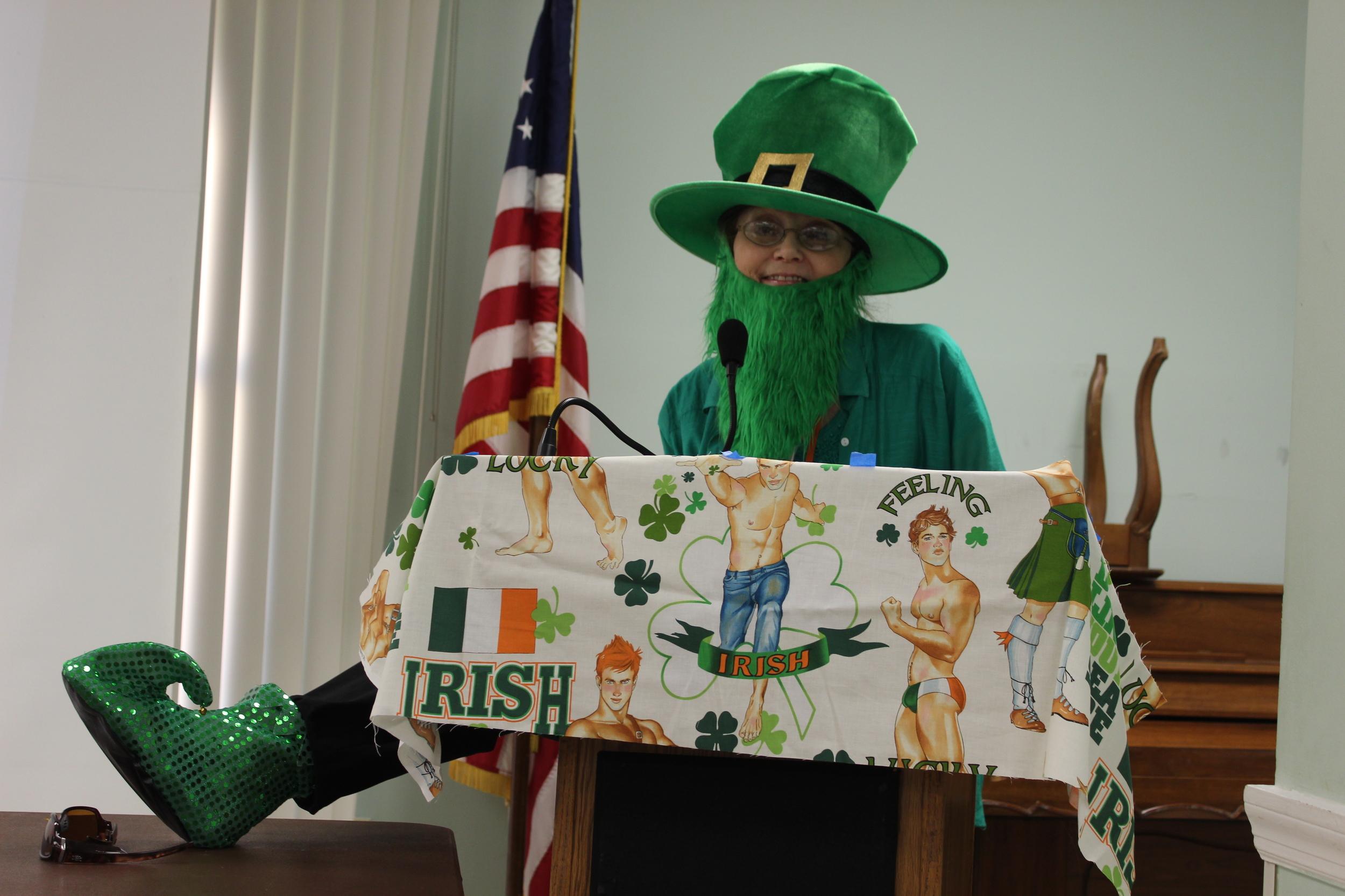 Prez Judy Shelton celebrating St. Patrick's Day.jpg