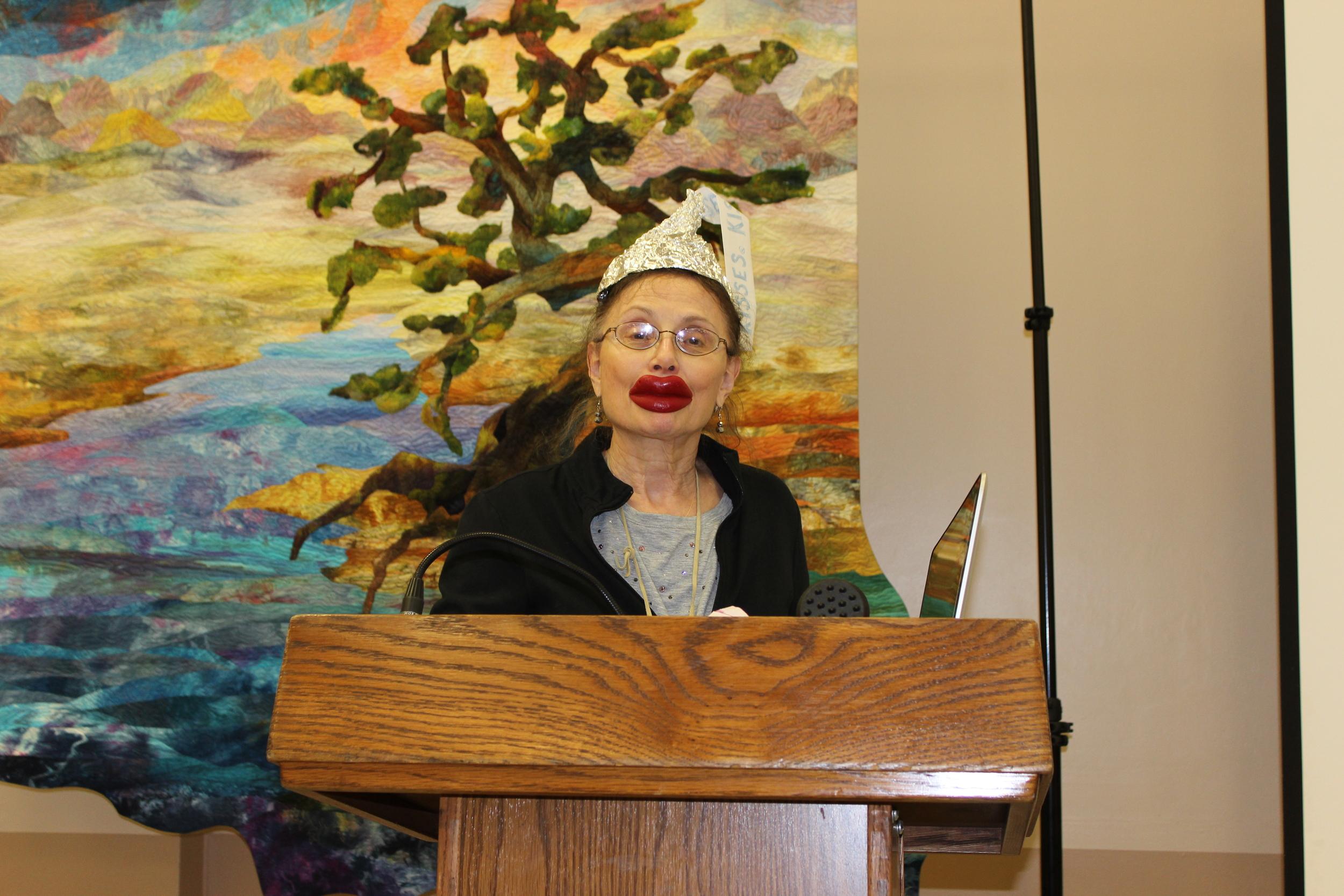 Prez Judy Shelton wishing everyone Happy Valentines Day.JPG