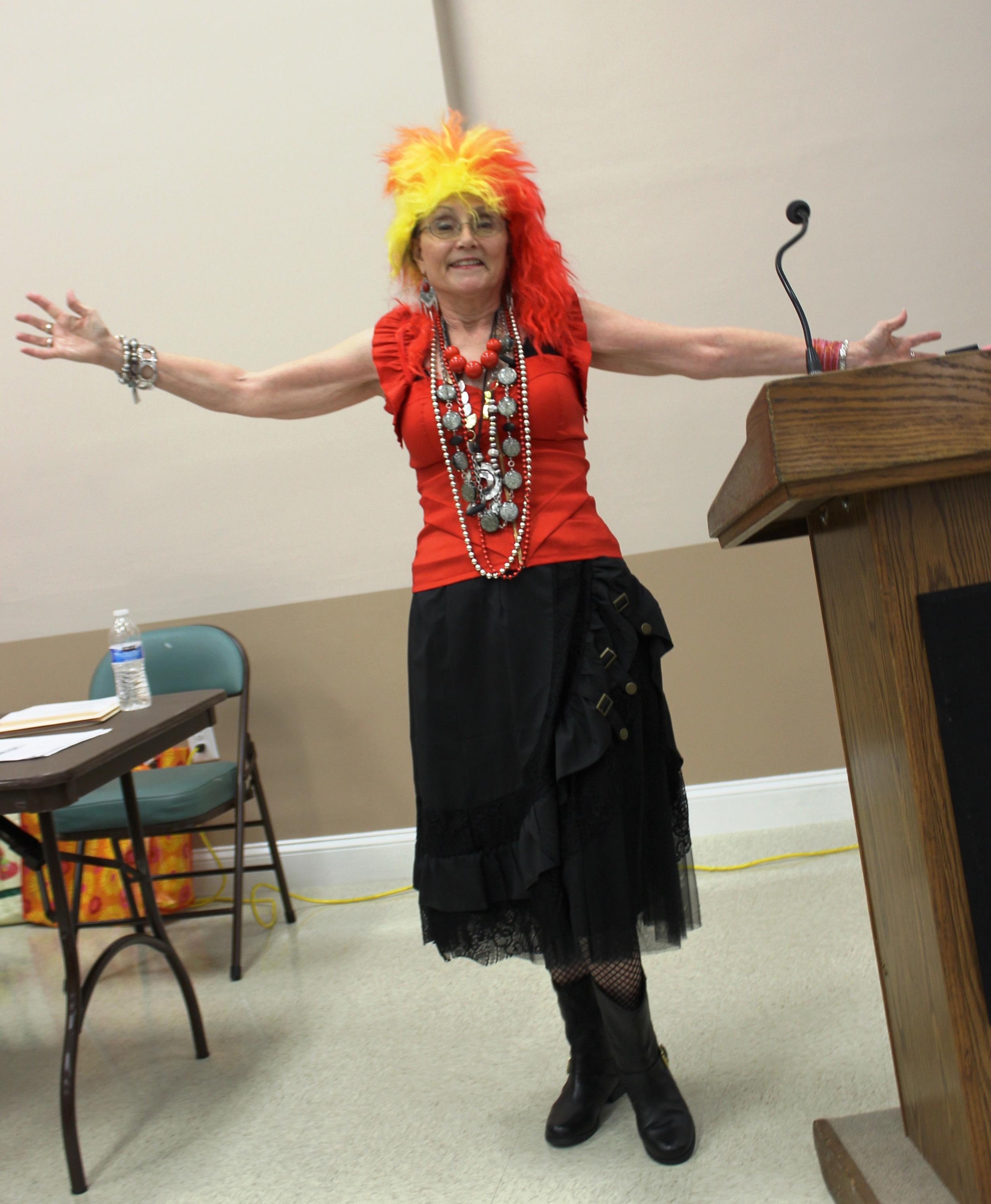 Judy Shelton (2016 Prez) claiming GIRLS JUST WANNA HAVE FUN!.jpg