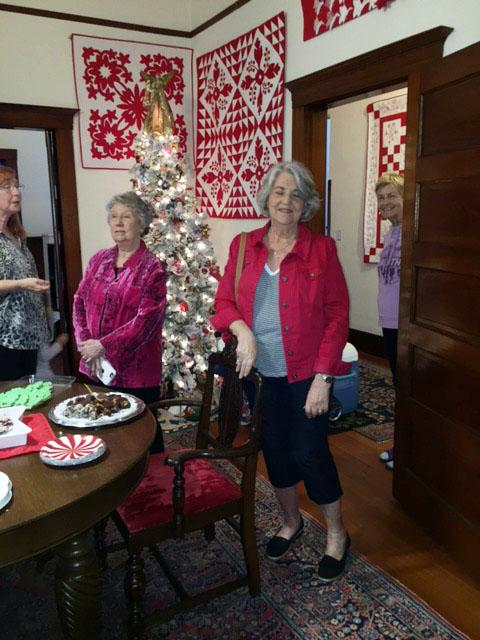 Marcia Ellen and with Sue Wiggins  peeking in.jpg