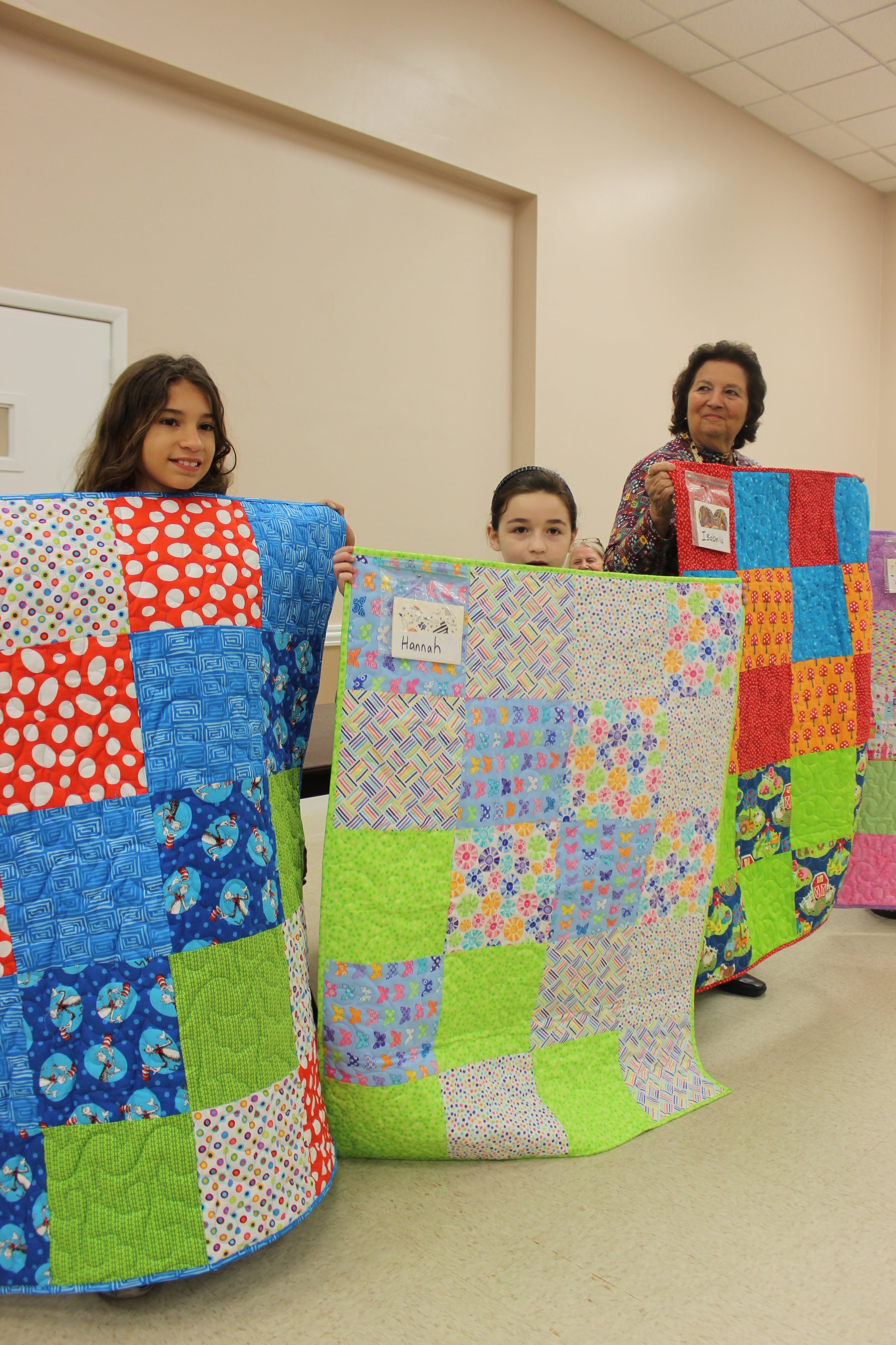 Patty Project Quilters December 2016 MARTA and HANNAH.JPG