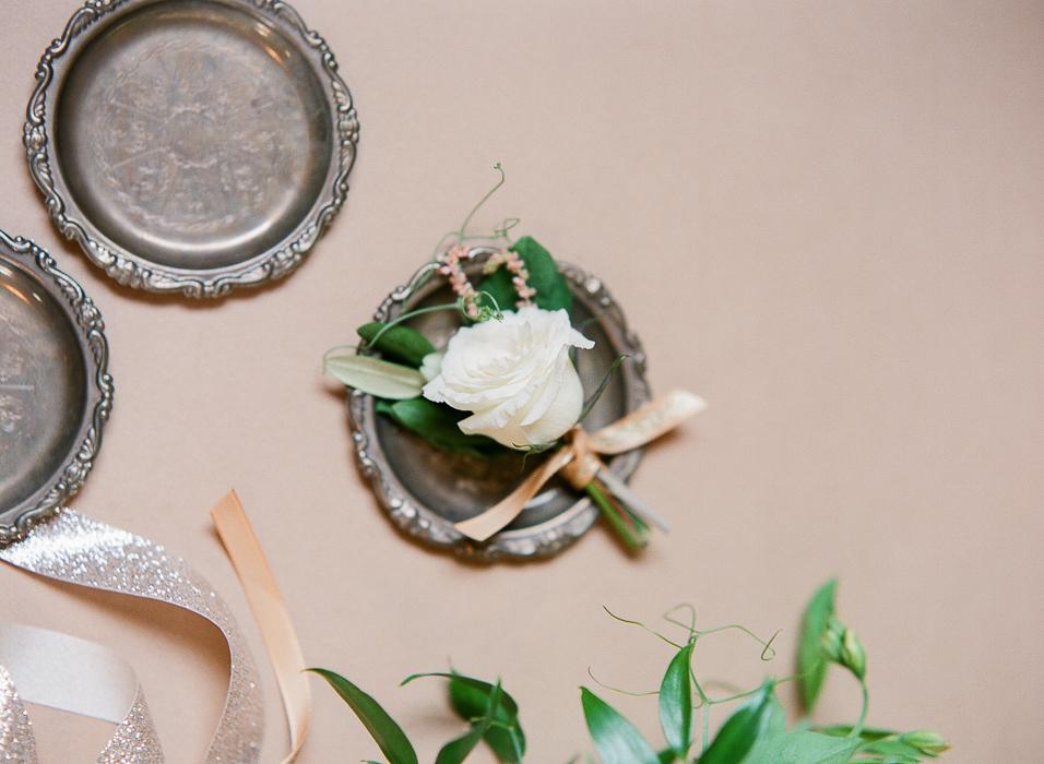 White Boutonniere - Winnipeg Wedding flowers
