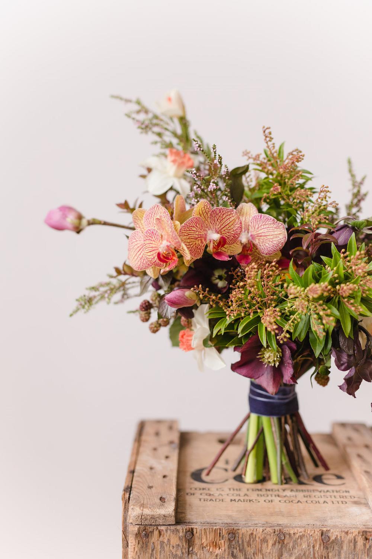 Unique Bridal Bouquet - Winnipeg Wedding Flowers