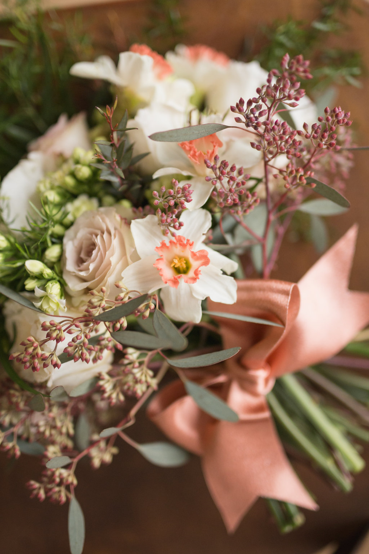 Daffodil Bridal Bouquet - Stone House Creative