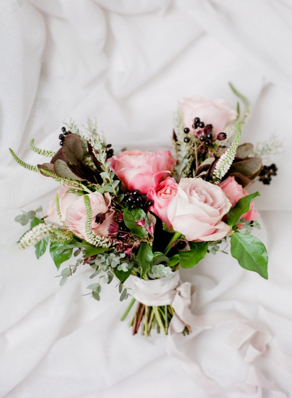 Winnipeg Wedding florist - coral wedding flowers