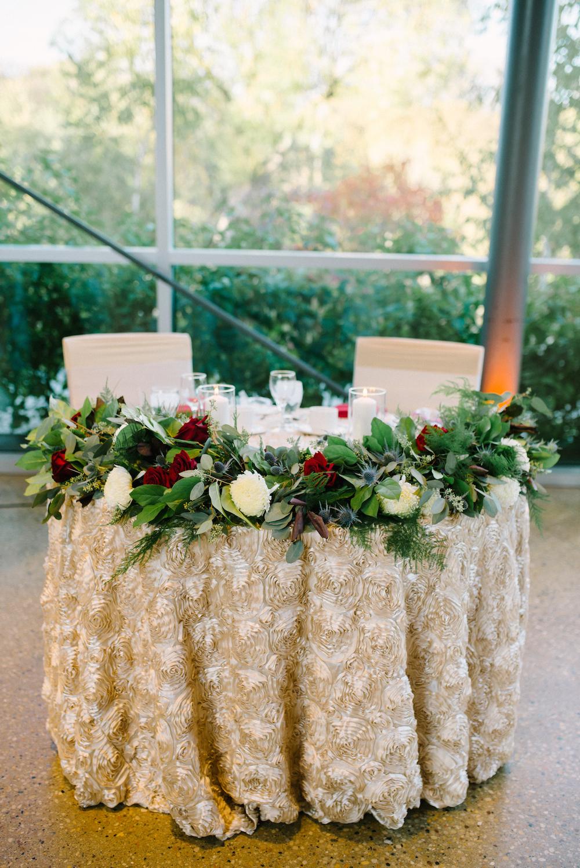 wedding garland - stone house creative
