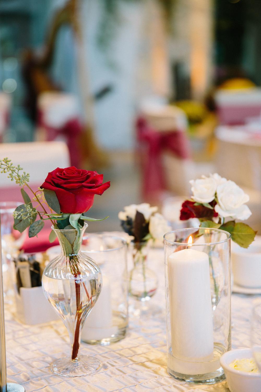 wedding centrepieces - stone house creative