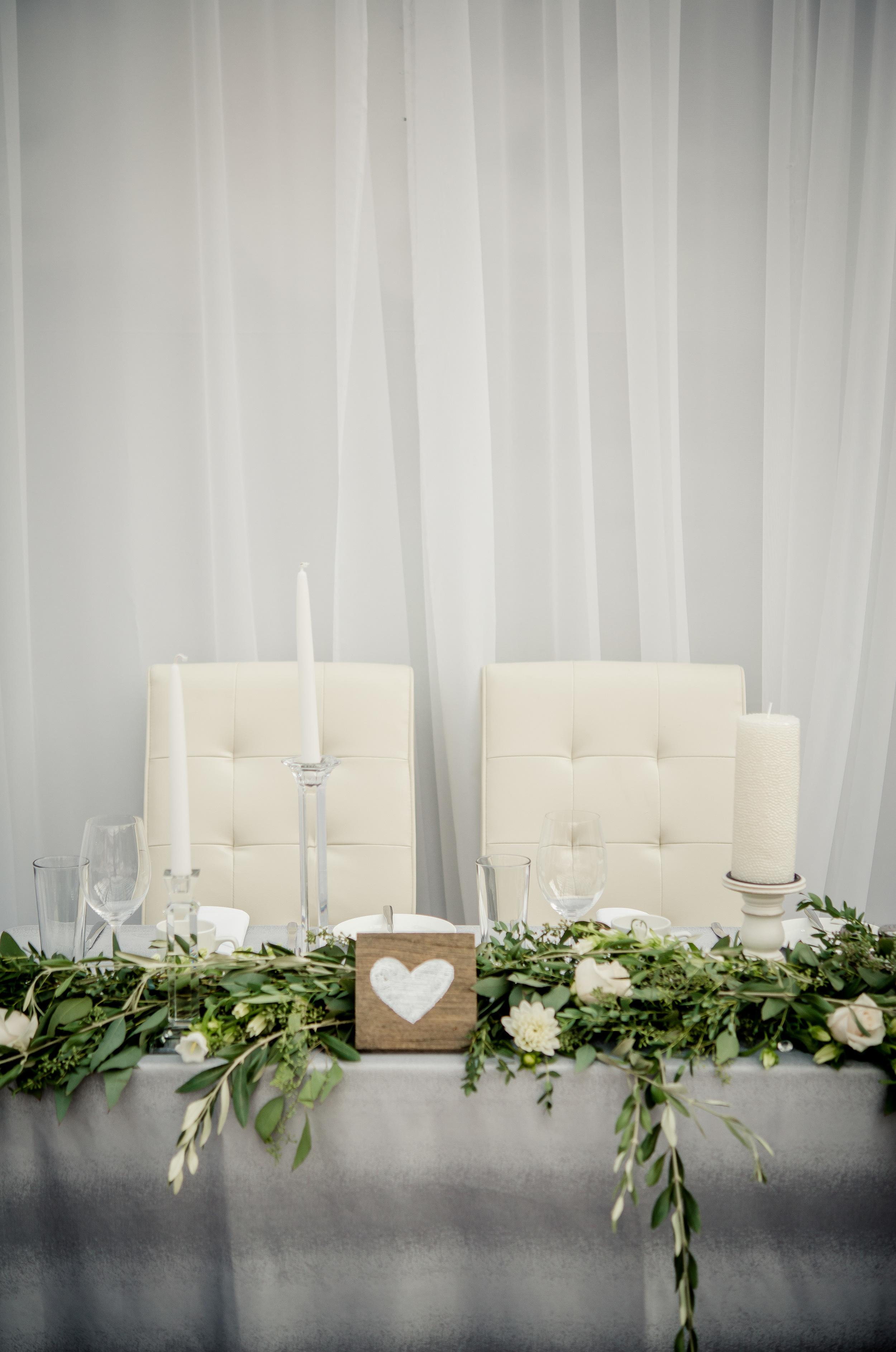 White Wedding Flowers - Stone House Creative