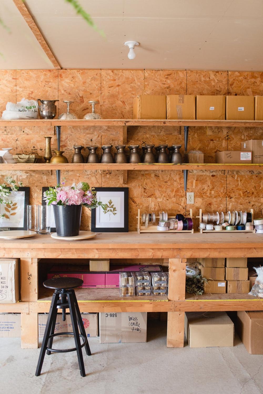 Floral Studio Tour - Wedding Florist