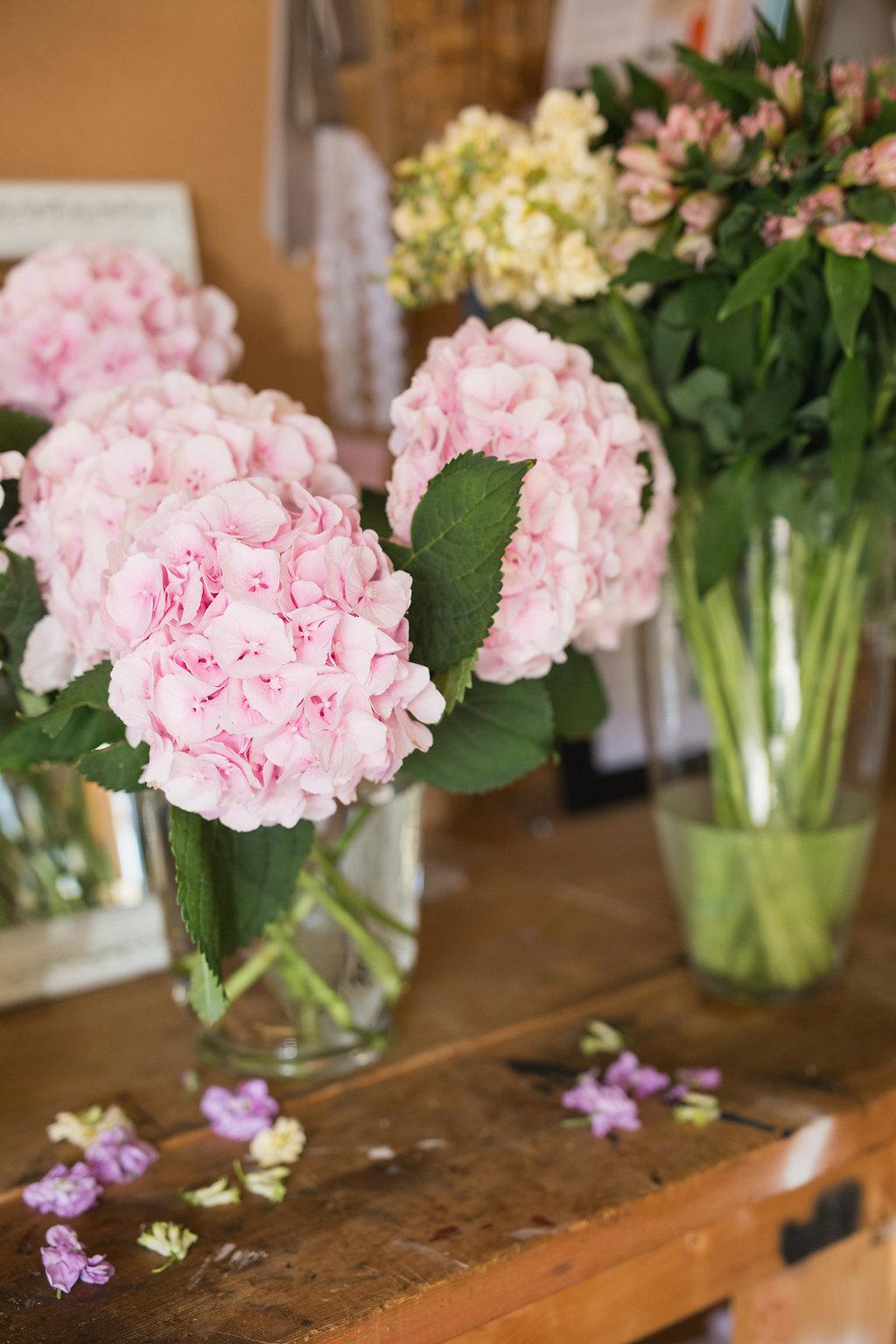 Pink Hydrangea - Wedding Flower Ideas