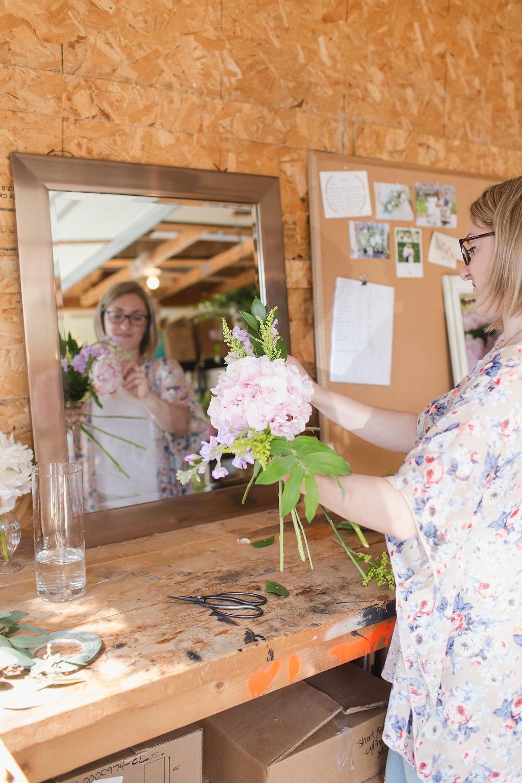 Stone House Creative - Florist Studio Tour