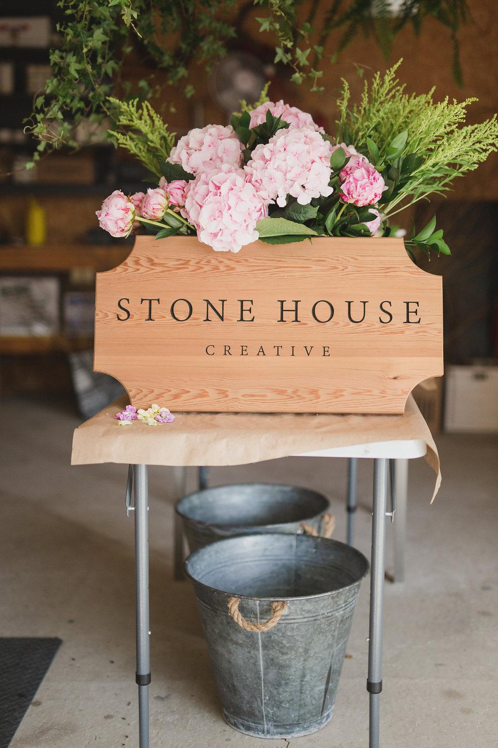Stone House Creative Wedding Florist Studio