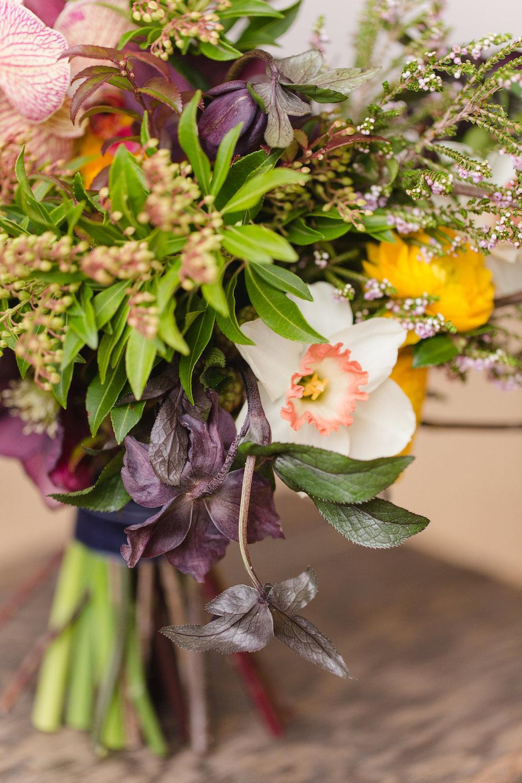 Organic Bridal Bouquet - Stone House Creative