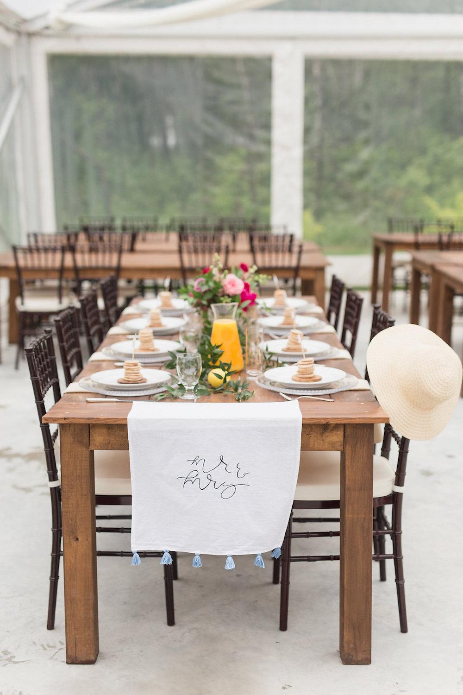 Brunch Wedding Ideas - Stone house Creative