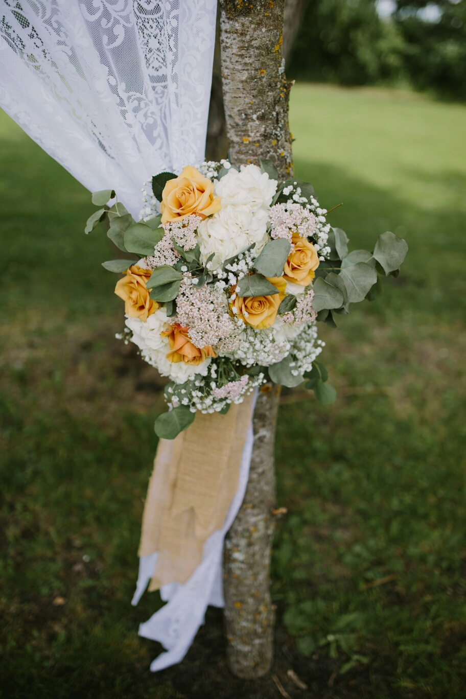 Chuppah Flowers - Wedding Flowers Winnipeg