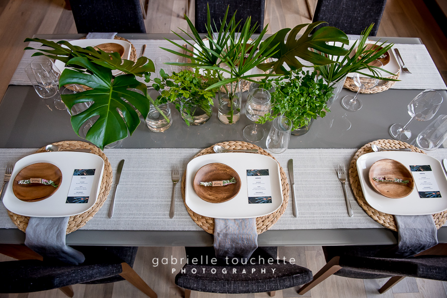Intimate Dinner Party Decor - Stone House Creative