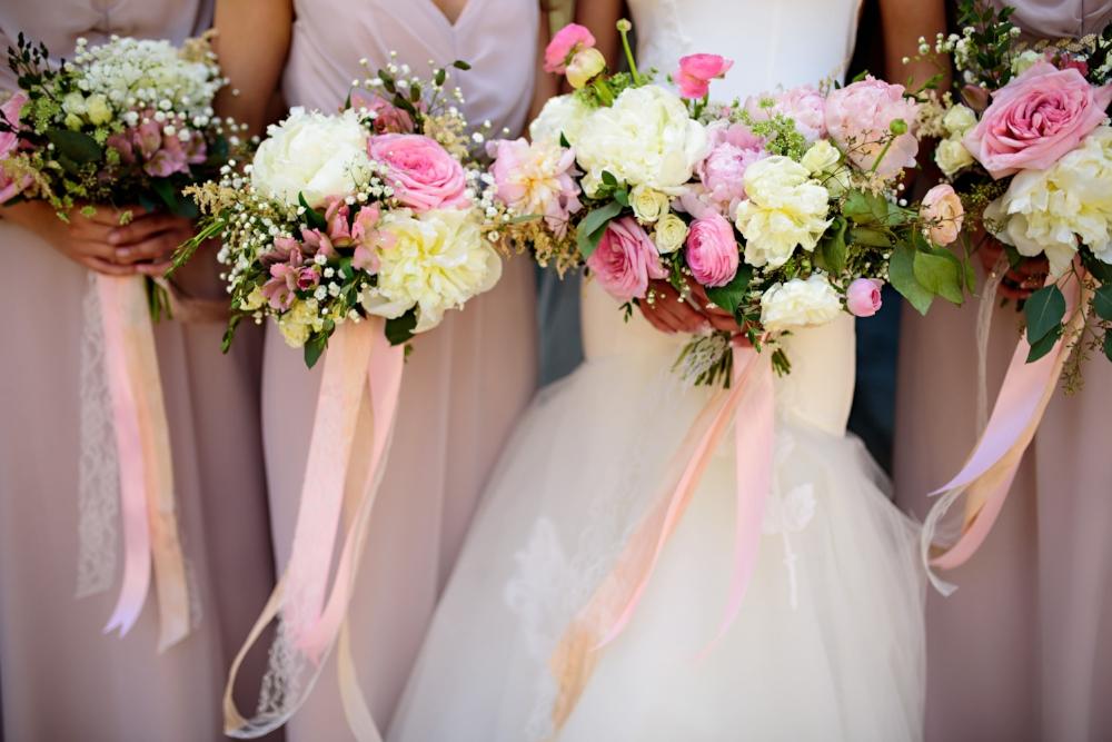 Peony Wedding Bouquet - Wedding Florist in Winnipeg