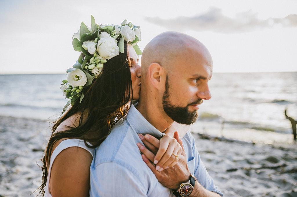 White Flower Crown - Winnipeg Wedding Flowers