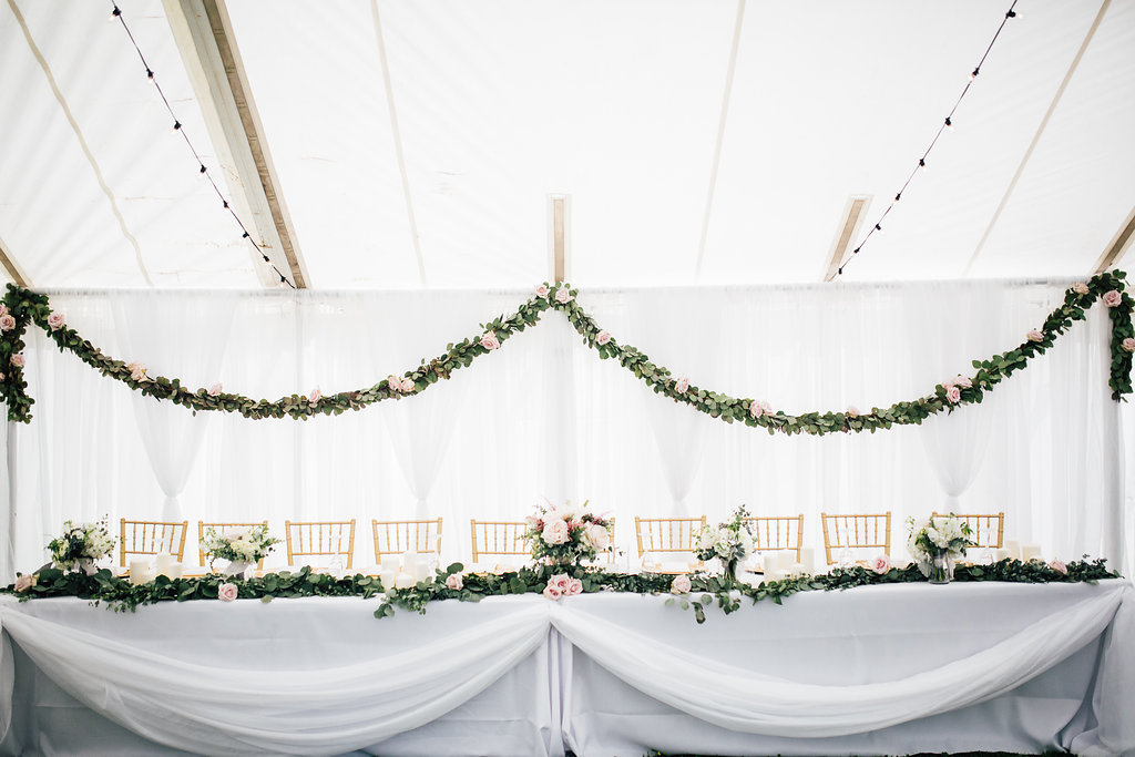 Garland Wedding Decor - Wedding florist in Winnipeg