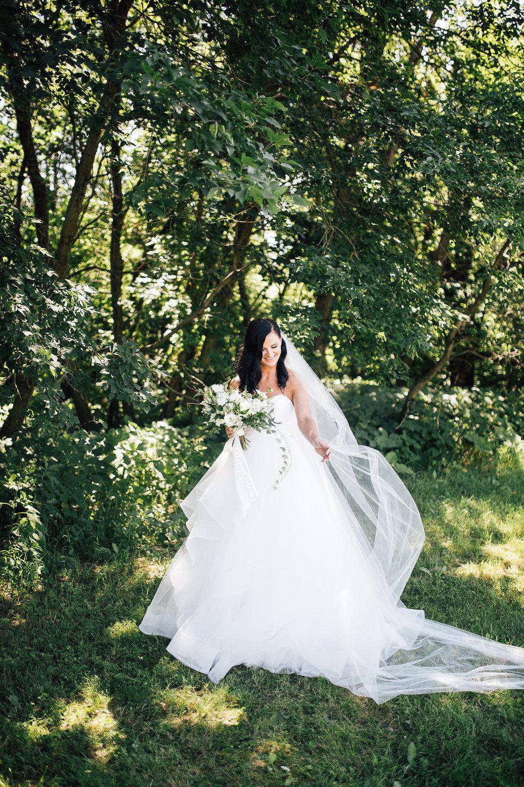 Hayley Paige Londyn Gown - Winnipeg Weddings