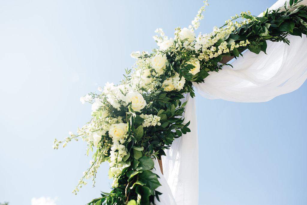 Wedding Ceremony Arbor Flowers - Winnipeg Florist