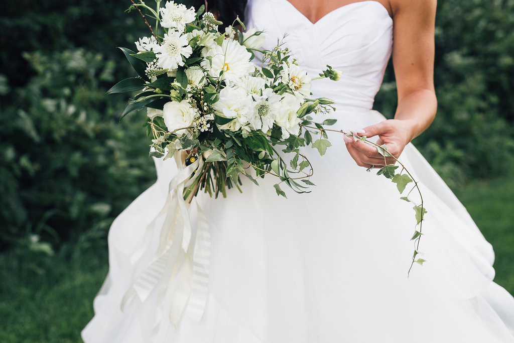 Wedding Florist in Winnipeg - White Wedding Flowers