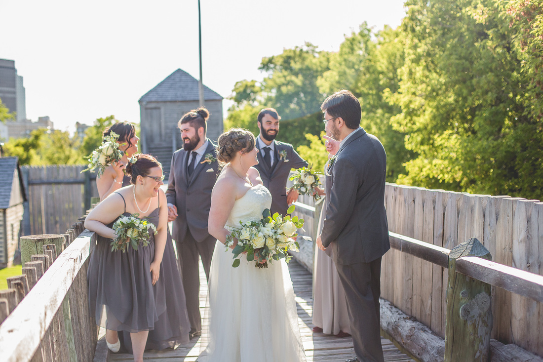 Fort Gibraltar Wedding - Winnipeg Wedding Venues
