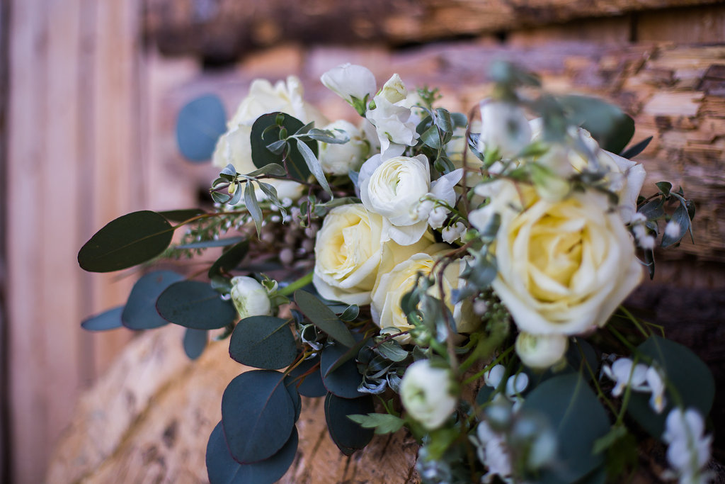White and Green Wedding Flowers - Wedding Florist in Winnipeg