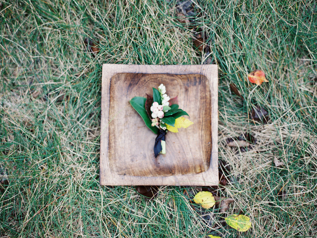 Textured Boutonniere - Wedding Flowers Winnipeg