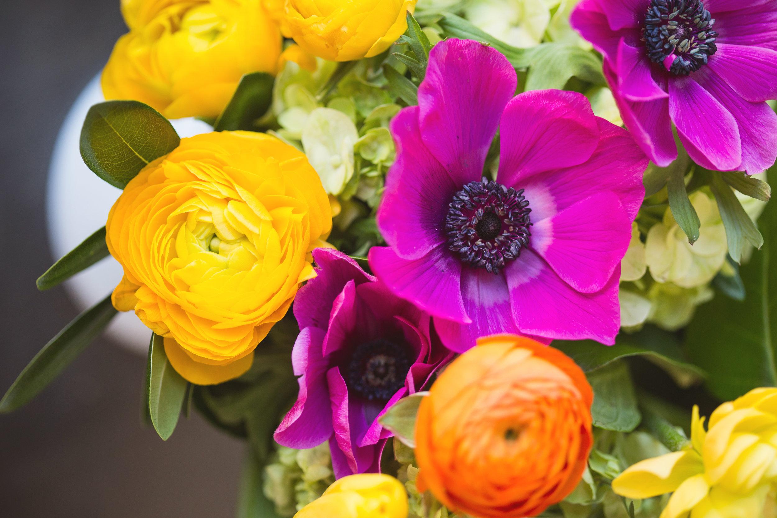 Colourful Wedding Flowers - Winnipeg Wedding Florist