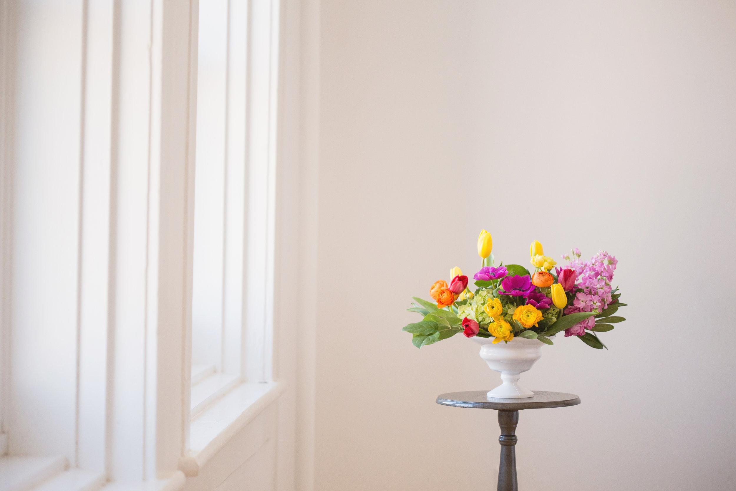 Spring Wedding Flowers - Stone House Creative