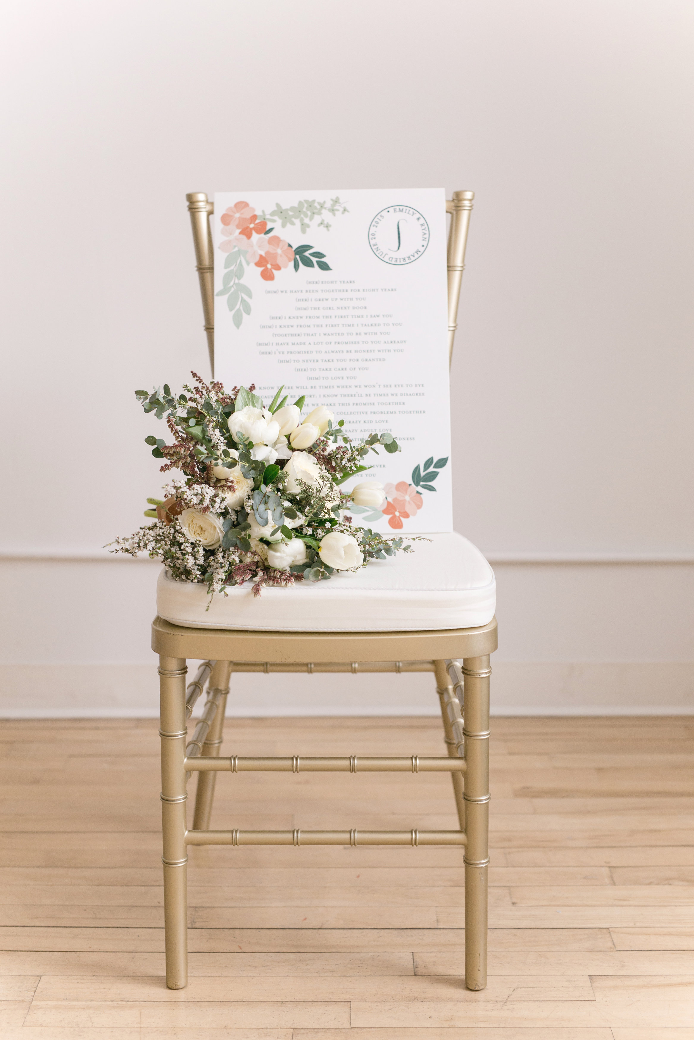 Floral Wedding Theme - Event Design Winnipeg