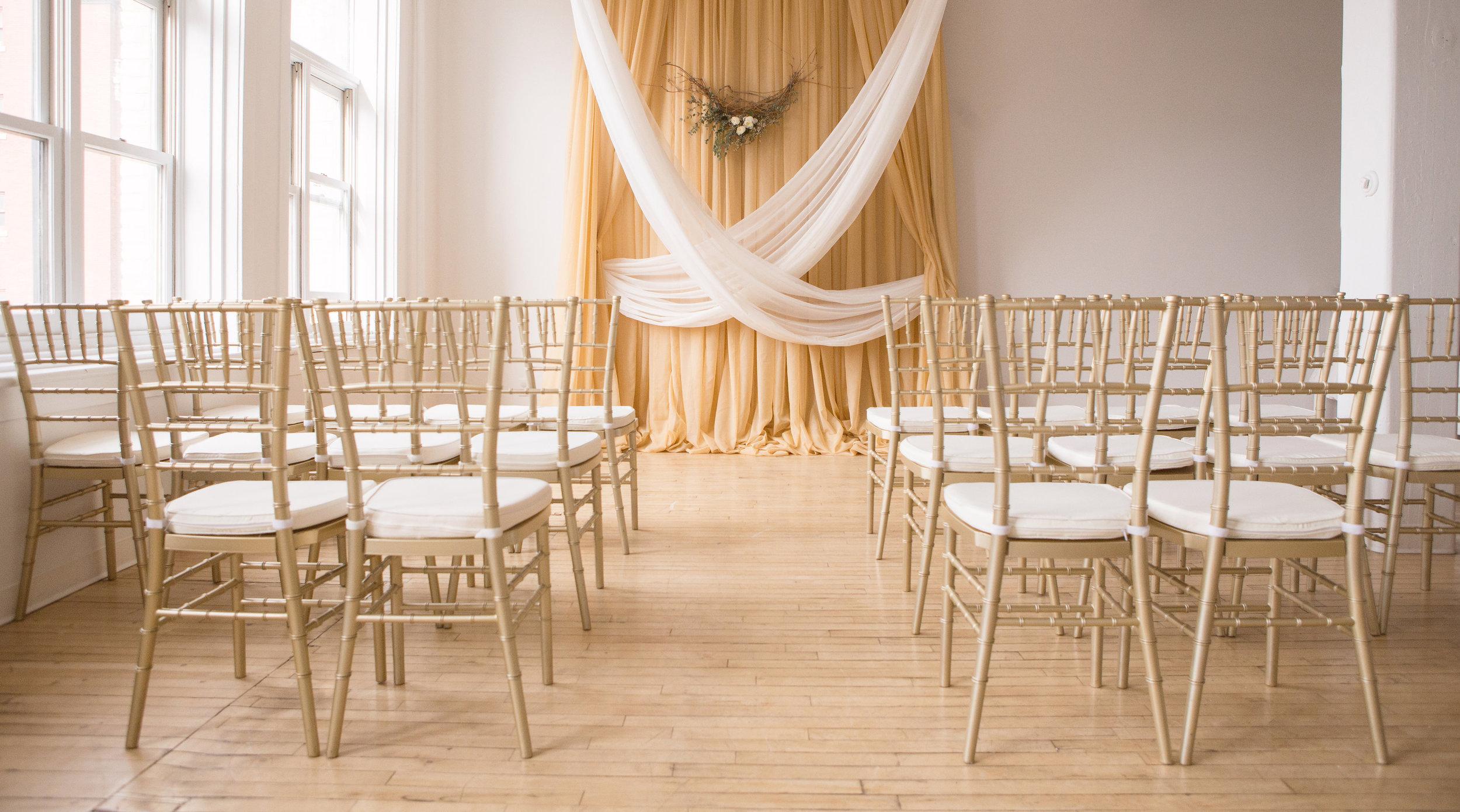 Gold Wedding Theme - Stone House Creative